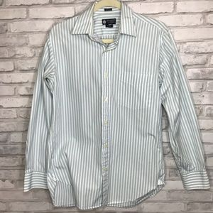 Vintage J Crew Habadashery Striped Button Down